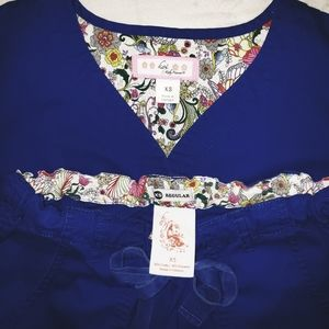 koi Other - Koi Scrub Set in Royal Blue size Xsmall EUC